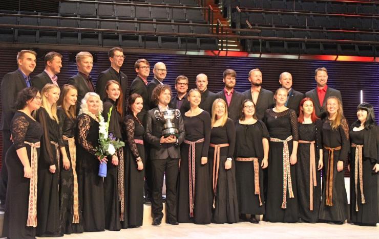 "Collegium Musicale tõi EBU koorikonkursi ""Let the Peoples Sing"" peavõidu Eestisse"