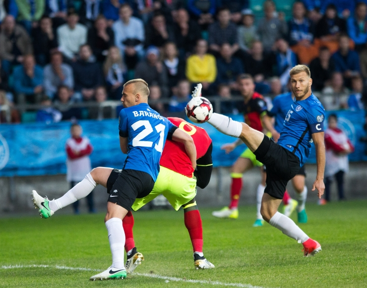 Eesti kerkis FIFA edetabelis neli kohta