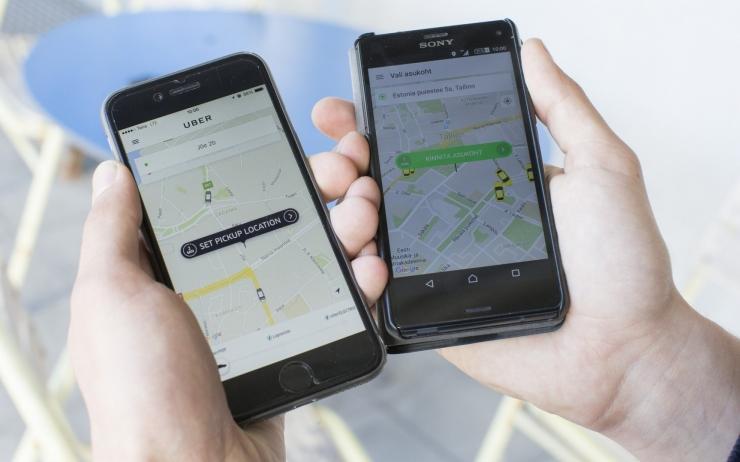Uber ja Taxify saavad uue ühsitranspordiseadusega õiguslikud raamid