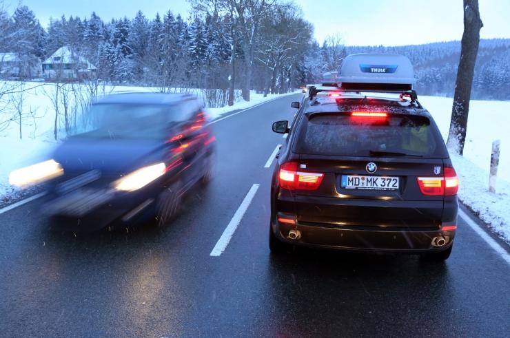 Jäine ilm suurendab liiklusõnnetuste ohtu