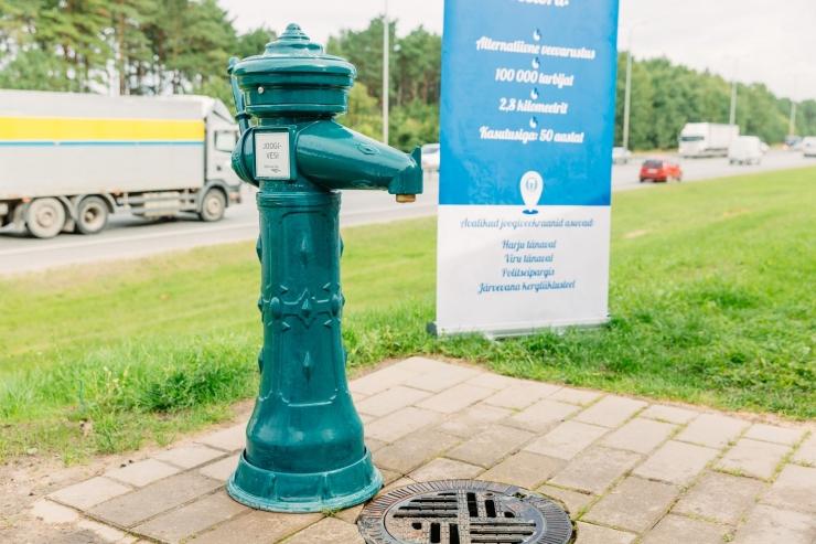 Avalikud joogiveekraanid keerati talveks kinni