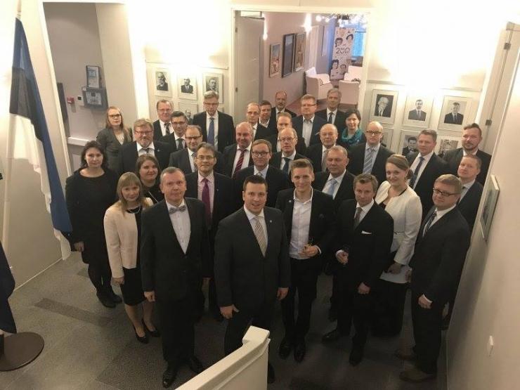 Ratas: Eesti ja Soome võiks saada ühtseks investeerimispiirkonnaks