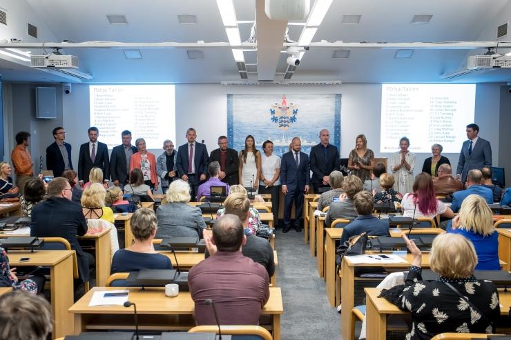 Tallinna linnavolikogu uus koosseis koguneb avaistungile 2. novembril