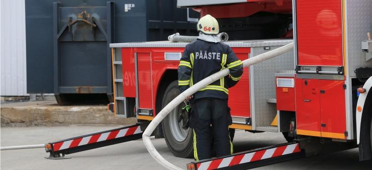 Lasnamäe Linnaosa Valitsus tagab hommikuse põlengu ohvritele asenduspinnad