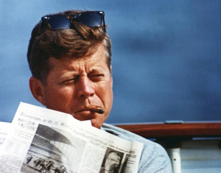 Ühendriikides avalikustati 2891 Kennedy mõrvauurimise dokumenti