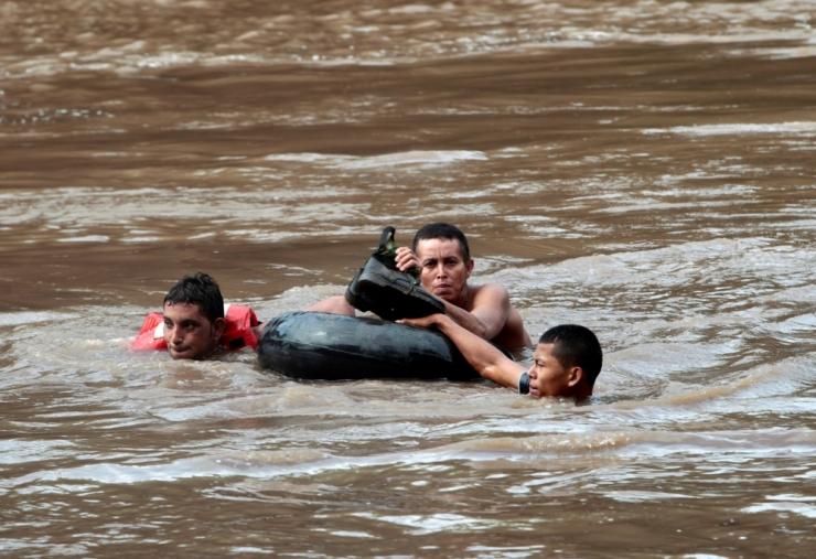 Nicaraguas on paduvihm nõudnud vähemalt viie inimese elu