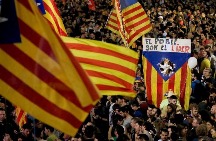 Kataloonia ülevõtmise otsus jõustus
