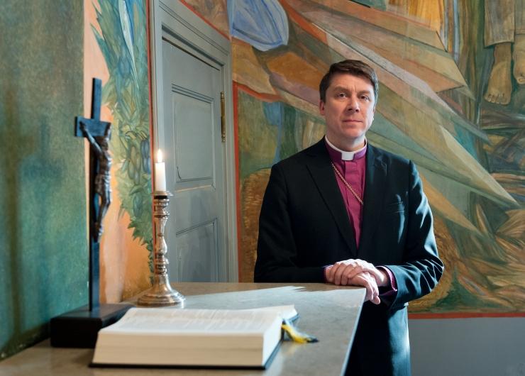 """Jaani kirik tutvustab näitust """"Eesti Piibel: alguses oli sõna"""""""