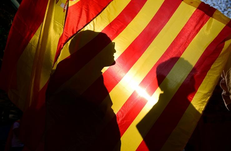 Barcelonas toimub meeleavaldus Kataloonia iseseisvumise vastu