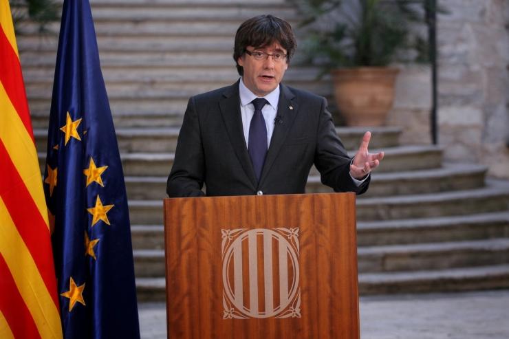 Kataloonia tagandatud juhid võivad saada süüdistuse