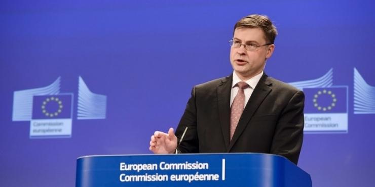 Dombrovskis: Eesti majandus on õigel teel