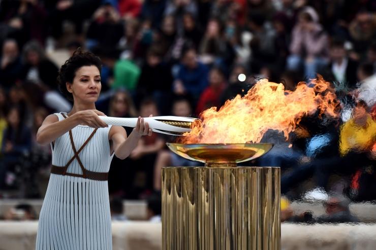 Olümpiatuli alustab 100-päevast teekonda Pyeongchangi