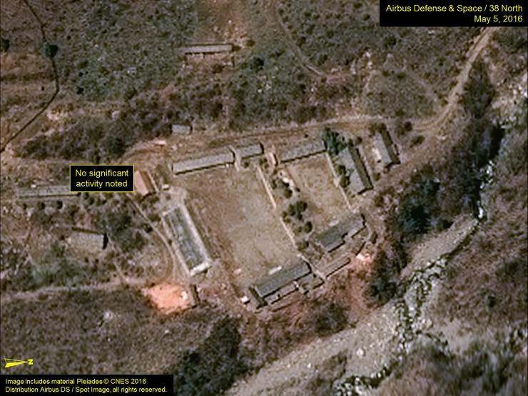 Põhja-Korea tuumapolügoonil võis varingus hukkuda üle 200 inimese