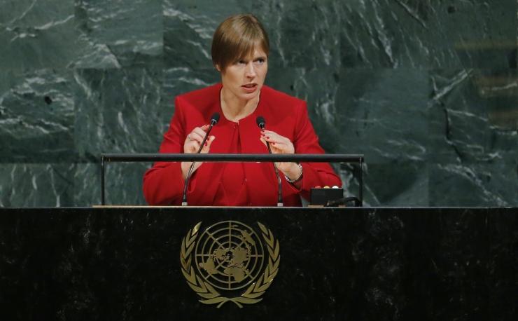 Kaljulaid sai esimese eestlasena Forbesi 100 mõjukaima naise nimekirja