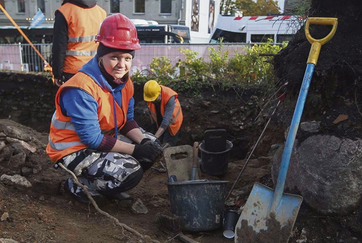 Arheoloogid leidsid Tõnismäelt hulga Tallinna algusaja münte