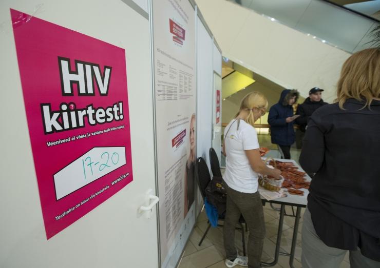 Tänavu on Eestis aids diagnoositud 18 inimesel