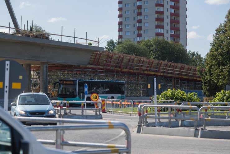 Haabersti ristmikul avatakse Ehitajate tee taas liiklusele