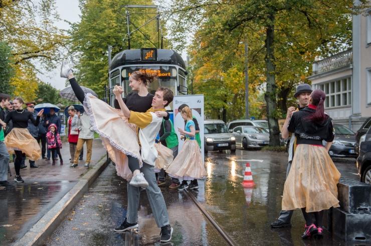 Otsa tänav sai ajutiselt trammi