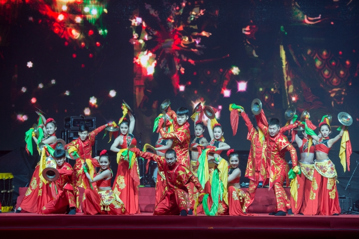 Hiina uus aasta saabub kontserdi ja Pekingi nädalaga