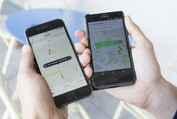 Uberi ja Taxify juhid rikuvad teadlikult uut seadust