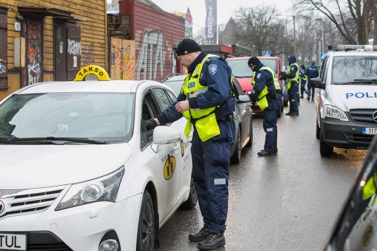 Politsei tabas ööpäevaga seitse joobes juhti
