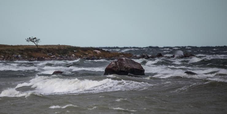 Tugev tuul võib Läänemerele tuua kuni 3-meetrised lained