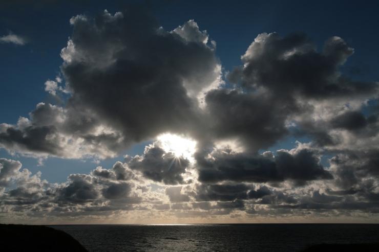 Taanduv tsüklon toob homme paiguti päikese välja