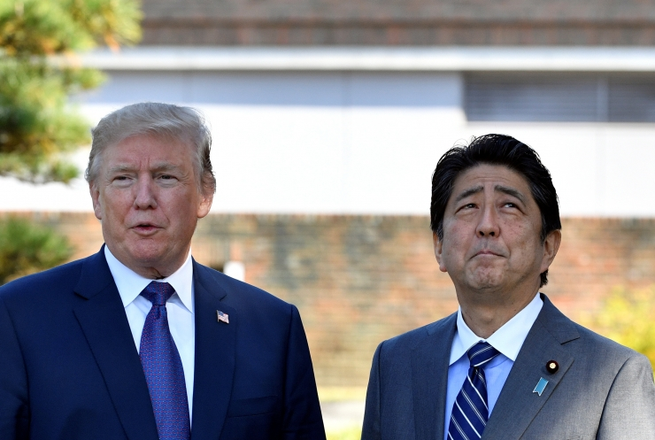 Aasia ringreisi alustanud Trump saabus Jaapanisse