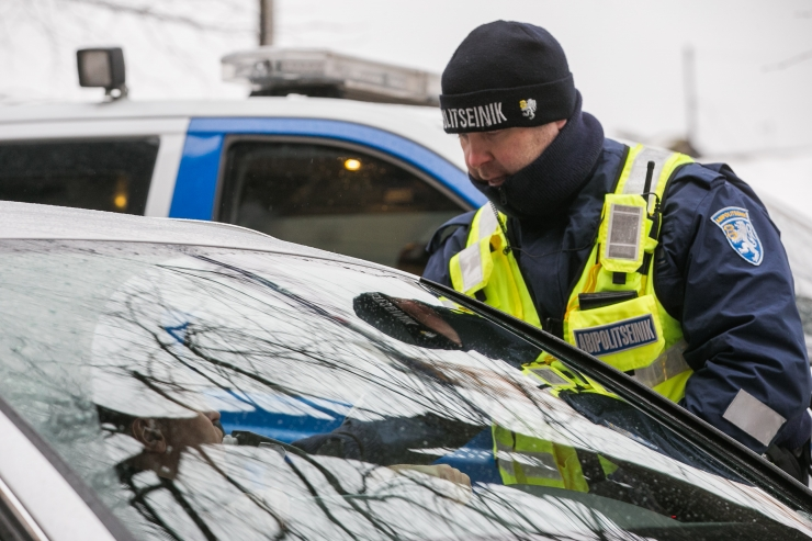 Politsei tabas ööpäevaga 21 joobes juhti