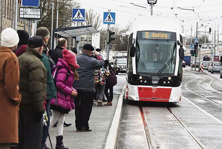 Sadamasse hakkaks sõitma veelgi uuemad trammid