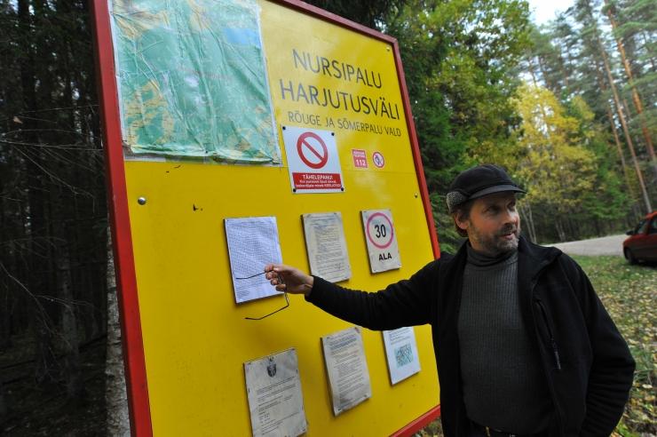 Kodanikuühendused andsid Keskkonnaameti Nursipalu raiete asjus kohtusse