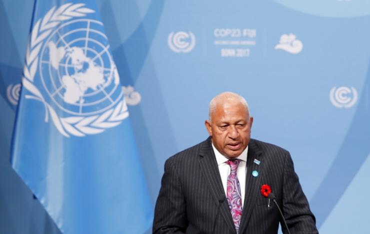 Fidži peaminister kutsus maailma kiirele võitlusele kliimamuutustega