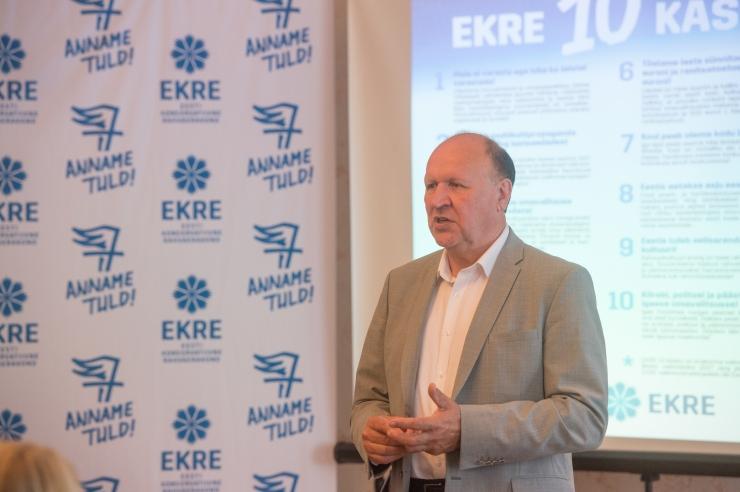 Helme: FSB agendi kinnipidamine peaks Eesti valitsust alarmeerima