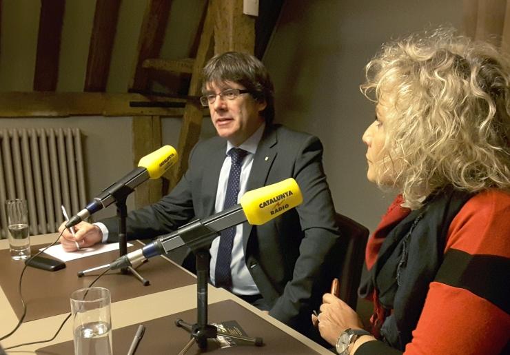 Puigdemont: Euroopa peab katalaanide eest välja astuma