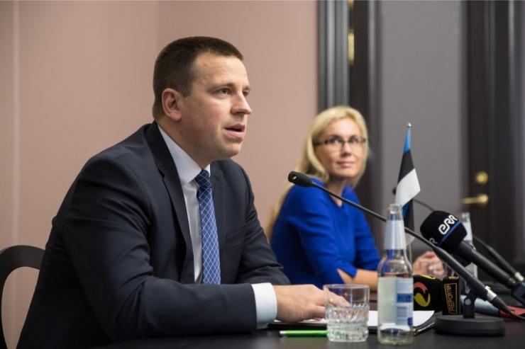 Enim mainitud ministrid olid Ratas, Ossinovski ja Simson