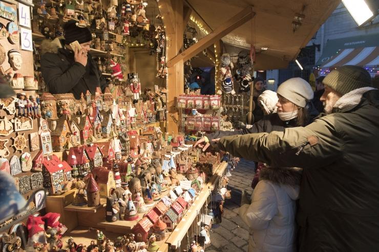Tallinna traditsiooniline jõuluturg avatakse juba reedel