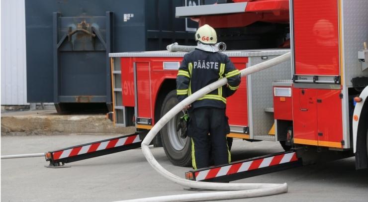 Viljandi haigla sundravi osakonnas puhkes põleng