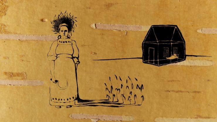 """Mait Laasi joonisfilm """"Mees ja naine. Vadja lugu"""" võitis maailma ühel vanimal animafilmide festivalil parima filmi auhinna"""