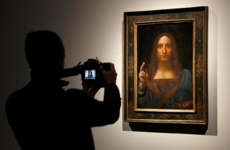 New Yorgis müüdi rekordilise 450 miljoni eest arvatav Da Vinci maal