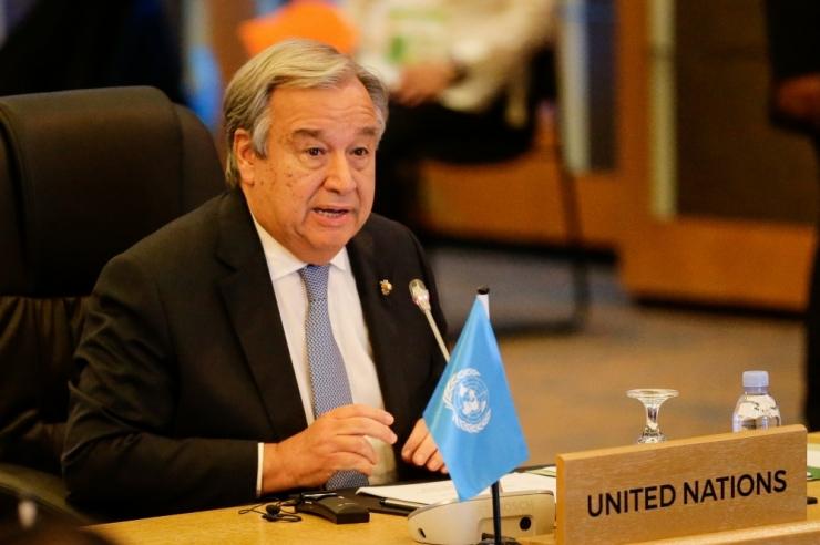 ÜRO juht: fossiilkütustesse investeerimine ei ole jätkusuutlik