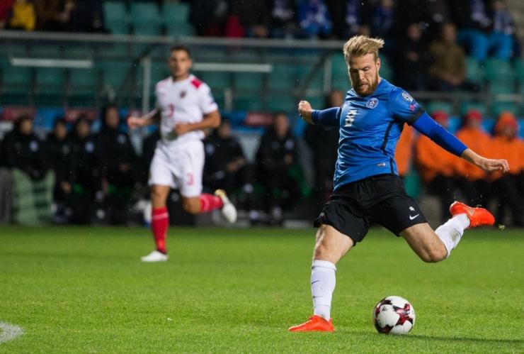 Eesti vutikoondis alistas 2:0 Fidži