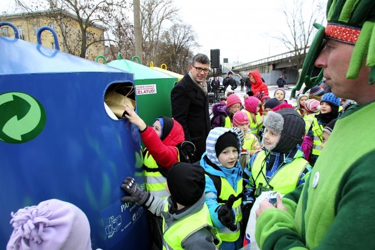 """Laupäeval saab Energia Avastuskeskuses jäätmeteemalisel perepäeval """"Prügi ressursiks"""" lustida"""