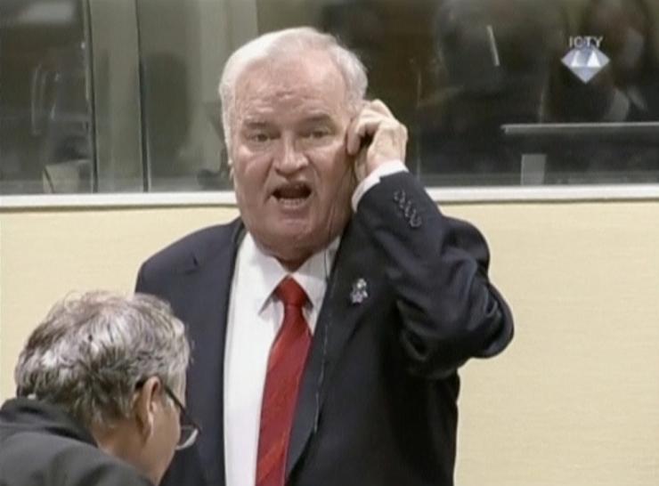 ÜRO sõjaroimakohus mõistis Ratko Mladići eluks ajaks vangi