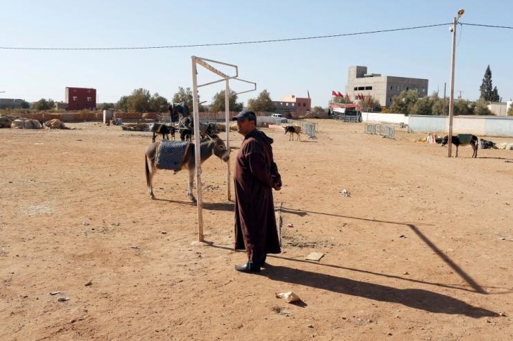 Maroko kuningas andis rahvale käsu vihma eest palvetada