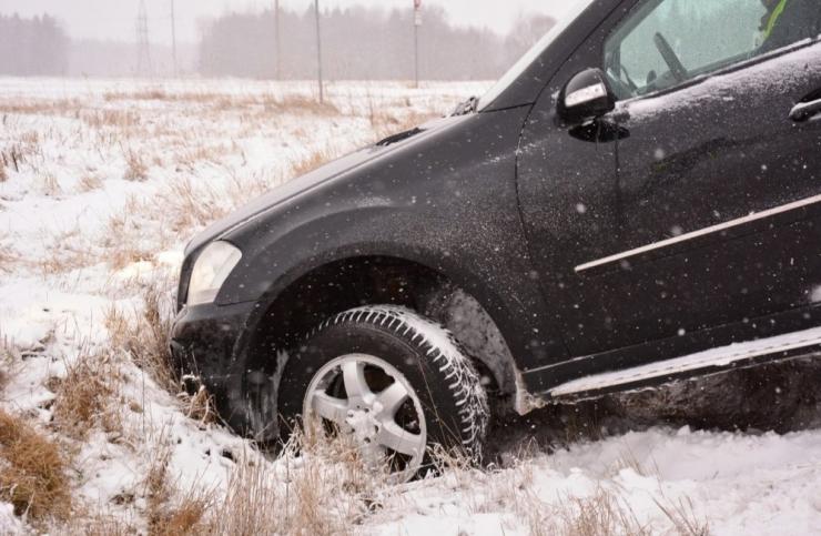 Tallinna–Tartu maanteel Kükital juhtus järjest kolm avariid