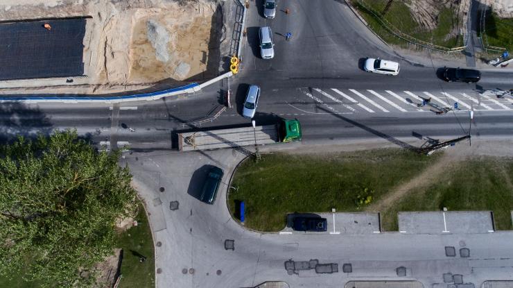 Haabersti ristmikul muutub liikluskorraldus
