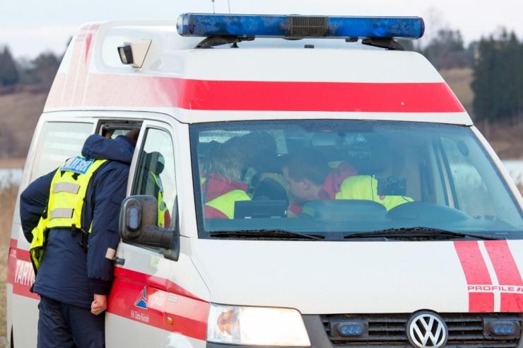 Kolmes liiklusõnnetuses sai viga kolm inimest