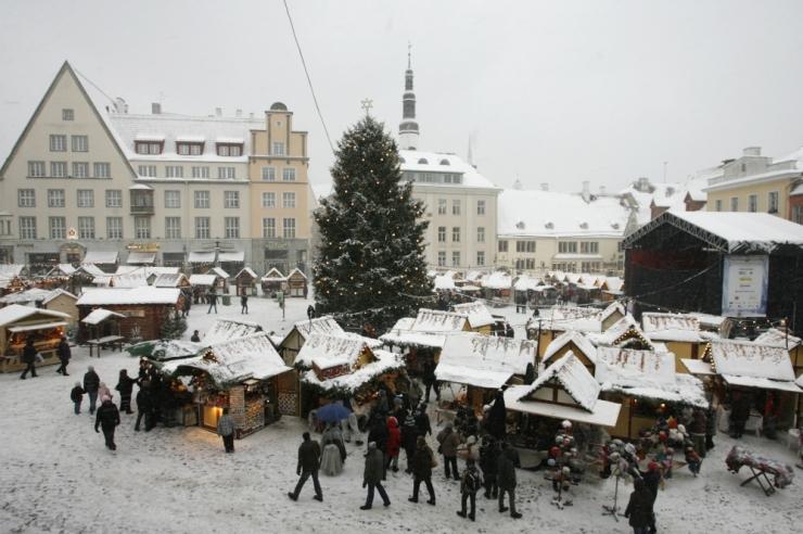 Ilmateenistus valgeteks jõuludeks palju lootust ei anna