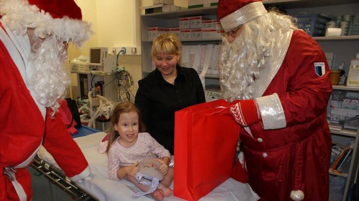 Jõulurõõm jõuab heade toetajate abil ka haiglatesse