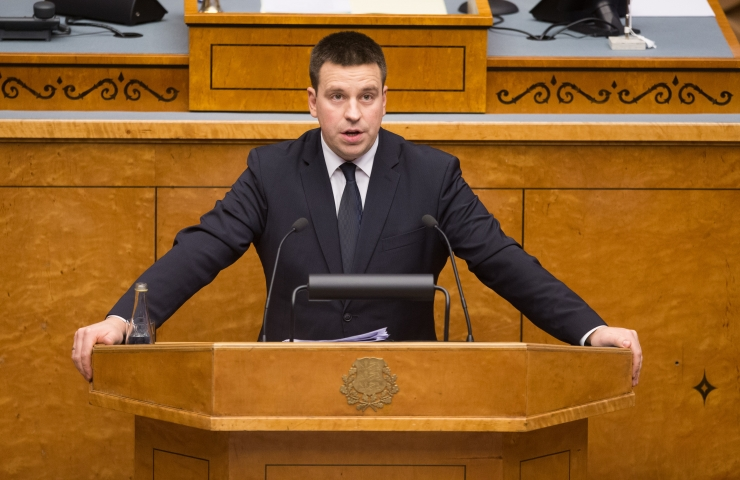 OTSE! Peaminister räägib Vabariigi Valitsuse tegevusest Euroopa Liidu poliitika teostamisel
